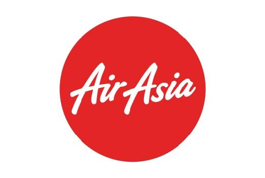 El logotipo y el enlace a uno de nuestros socios Air Asia. Haz click aquí para visitar su sitio