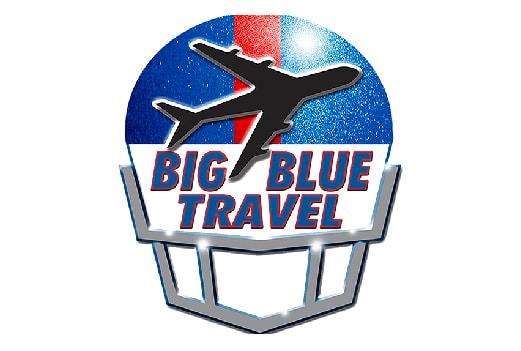 El logotipo y el enlace a uno de nuestros socios Big Blue Travel. Haz click aquí para visitar su sitio