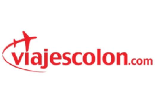 El logotipo y el enlace a uno de nuestros socios Viajes Colon. Haz click aquí para visitar su sitio